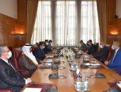 الأمين العام للجامعة العربية يستقبل رئيس البرلمان العربى الجديد