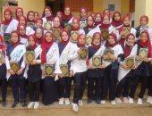 مدرسة بطوخ تكرم 56 طالبة من حفظة القرآن الكريم وأوائل المرحلة الإعدادية
