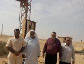 ربط قرية الجدى بخط إنارة منخفض بوسط سيناء
