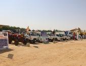 محافظة سوهاج ترفع درجة الاستعداد لمواجهة السيول والأمطار المتوقعة.. صور