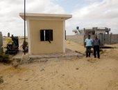 صور.. دعم قريتين بوسط سيناء بمحولات كهرباء جديدة
