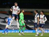 أهداف مباراة توتنهام ضد برايتون 2 - 1 فى الدوري الإنجليزي
