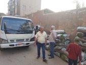 تحرير 225 محضر إشغال طريق وإزالات إدارية خلال حملات بالمنيا وأسيوط.. صور