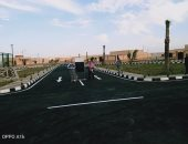 """""""طريق النفق رأس النقب و3 تجمعات تنموية"""" مشروعات بوسط سيناء افتتحها الرئيس"""