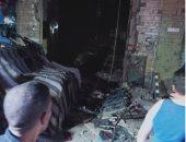 انفجار ماسورة غاز في مدخل منزل بدار السلام وإصابة حارس العقار
