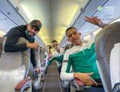 طائرة بعثة الرجاء المغربى تغادر الدار البيضاء فى طريقها للقاهرة