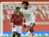 محمد النني على رأس 8 لاعبين مهددين بالرحيل عن أرسنال فى الصيف