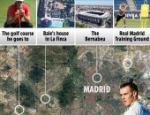 10 صور تكشف حياة بيل الملياردير فى مدريد قبل محطة توتنهام .. صور