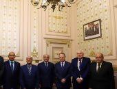 مجلس القضاء الأعلى يستقبل وزير العدل
