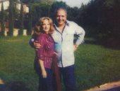 شادية فى صورة نادرة مع شقيقها أثناء تواجدها بأمريكا منذ 41 سنة