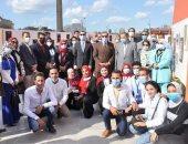 رئيس جامعة كفر الشيخ: تفعيل الأنشطة وإقامة المعارض وعرض منتجات الطلاب