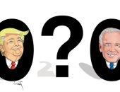 كاريكاتير اليوم.. 2020 فى انتظار رئيس أمريكى جديد