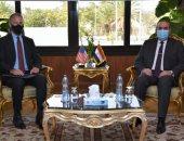 وزير الطيران يستقبل السفير الأمريكى بالقاهرة لبحث العلاقات الثنائية
