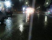 هطول أمطار بين متوسطة وغزيرة على مطروح والساحل الشمالى.. فيديو وصور