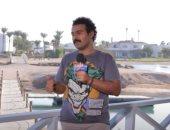 """تعرف على سر """"شنب"""" الفنان إسلام إبراهيم فى مهرجان الجونة"""