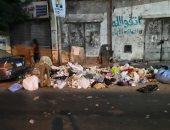 الاستجابة لشكوى انتشار قمامة بشارع مصطفى كامل في باكوس بالإسكندرية
