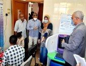 صحة الأقصر تكشف تفاصيل مبادرة رئيس الجمهورية 100 مليون صحة فى 372 مدرسة