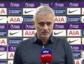 مورينيو: لا توجد مباراة سهلة فى الدوري الإنجليزي.. وبيل لاعب مذهل