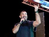 أحمد سعد يتألق بحفل ضخم لنقابة المهن العلمية بالإسكندرية..صور