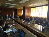 وزير الرى يلتقى ممثلى بنك الإعمار الأوروبى لبحث التعاون فى مجالات المياه
