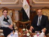 نائب وزير الاتصالات تهنئ عبد الوهاب عبد الرازق على تقلده رئاسة مجلس الشيوخ