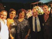 وزيرة الثقافة تحتفل بزفاف ابنها بحضور عدد من نجوم الفن.. صور