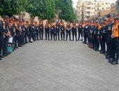الأمن يعيد المشاهد الحضارية لشارع المعز لدين الله من جديد بقلب القاهرة