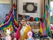 """""""شريهان"""" من دمياط تحدت البطالة ونجحت فى تشغيل الفتيات بالأعمال اليدوية (صور)"""