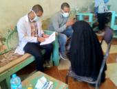 جامعة جنوب الوادى تقدم العلاج لـ395 حالة فى قافلة طبية بقرية السمطا بقنا