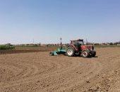 إستعدادات لموسم زراعة محصول القمح وتسوية 20 ألف فدان بالمنوفية