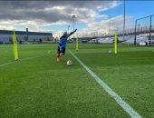 أجويرو يعود لتدريبات مانشستر سيتي استعدادًا لقمة ليفربول
