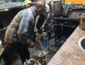 ضبط 250 شيشة وغلق 3 مقاهى وتحرير 12 محضر لمخالفة قرار الغلق بالقليوبية