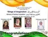 فوز طالبتين من جامعة حلوان بالمركزين الأول والثاني بمسابقة سفارة الهند عن غاندى