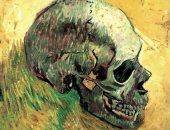 """شاهد فان جوخ يرسم لوحة """"الجمجمة"""" عام 1887"""