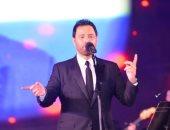 نجل عاصي الحلاني يشارك والده فى حفل مهرجان الموسيقى العربية