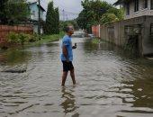 إعصار إيتا يدمر أمريكا الوسطى.. انهيارات أرضية وغرق منازل.. ألبوم صور