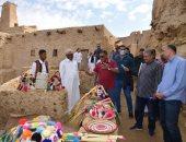 وزير السياحة ومحافظ مطروح يفتتحان غدا مدينة شالى الأثرية فى واحة سيوة