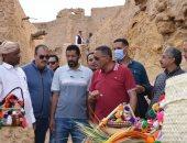 وزير الآثار يفتتح مدينة شالى الأثرية بسيوة اليوم بعد إعادة ترميمها