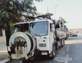 انطلاق سيارات شركة الصرف الصحى بالقاهرة فجرا تحسبا لسقوط أمطار