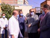 """محافظ أسيوط يتفقد مستشفى ساحل سليم المركزى ويطمئن على توفر الأطقم الطبية """"صور"""""""