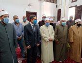 صور.. محافظ الغربية يفتتح عدد من المساجد وسط فرحة الأهالى