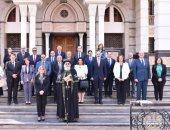 البابا تواضروس يلقتى أعضاء مجلس الشيوخ ويحدثهم عن المسئولية الوطنية