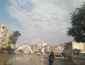 هطول أمطار متوسطة بمدن كفر الشيخ وإعلان حالة الطوارئ.. صور