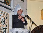 وزير الأوقاف يلقى خطبة الجمعة فى دمياط عن خطورة الهجرة غير الشرعية