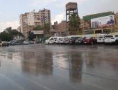 فيديو وصور.. سقوط أمطار غزيرة بالتزامن مع الانتخابات البرلمانية فى المحلة