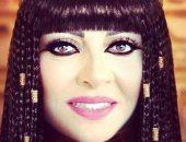 """هالة صدقى فى إطلالة فرعونية: اشمعنى سوسن بدر نفرتيتى أنا """"نفر"""" بنت خالتها"""