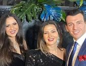 دنيا سمير غانم تشارك جمهورها بصور من حفل زفاف هنادى و أحمد خالد صالح