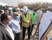 وزير النقل يتفقد أعمال تطوير وصيانة الطريق الدائرى حول القاهرة الكبرى.. صور