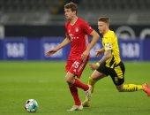 """دورتموند ضد البايرن.. كلاسيكو ألمانيا يشتعل في نهاية الشوط الأول 1-1 """"فيديو"""""""