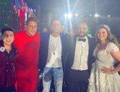 ثلاثى المهرجانات.. شاكوش و عمر كمال و بيكا يشعلون حفل زفاف هنادى مهنا